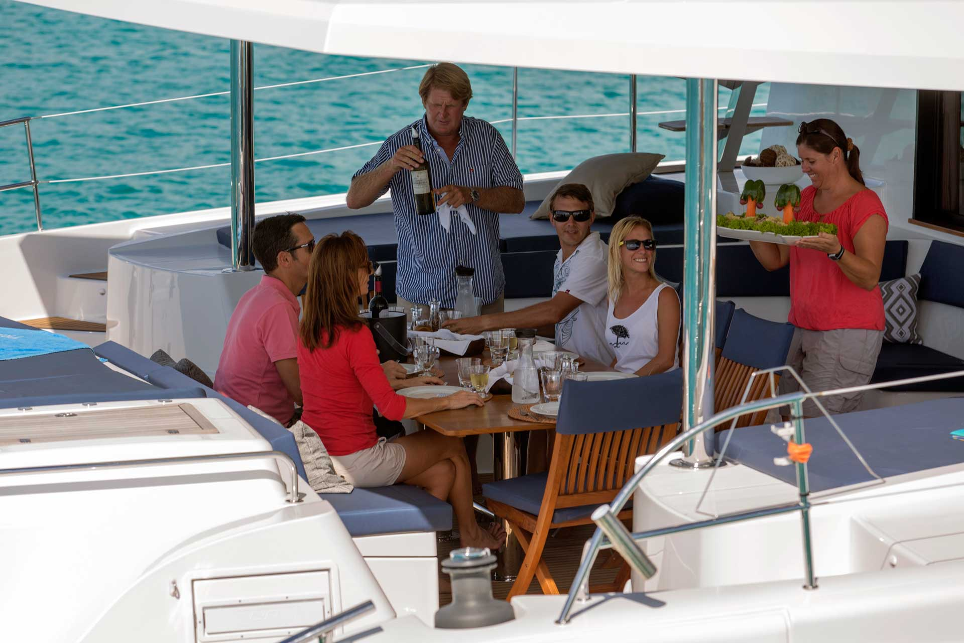 TradeWinds shared yacht charter