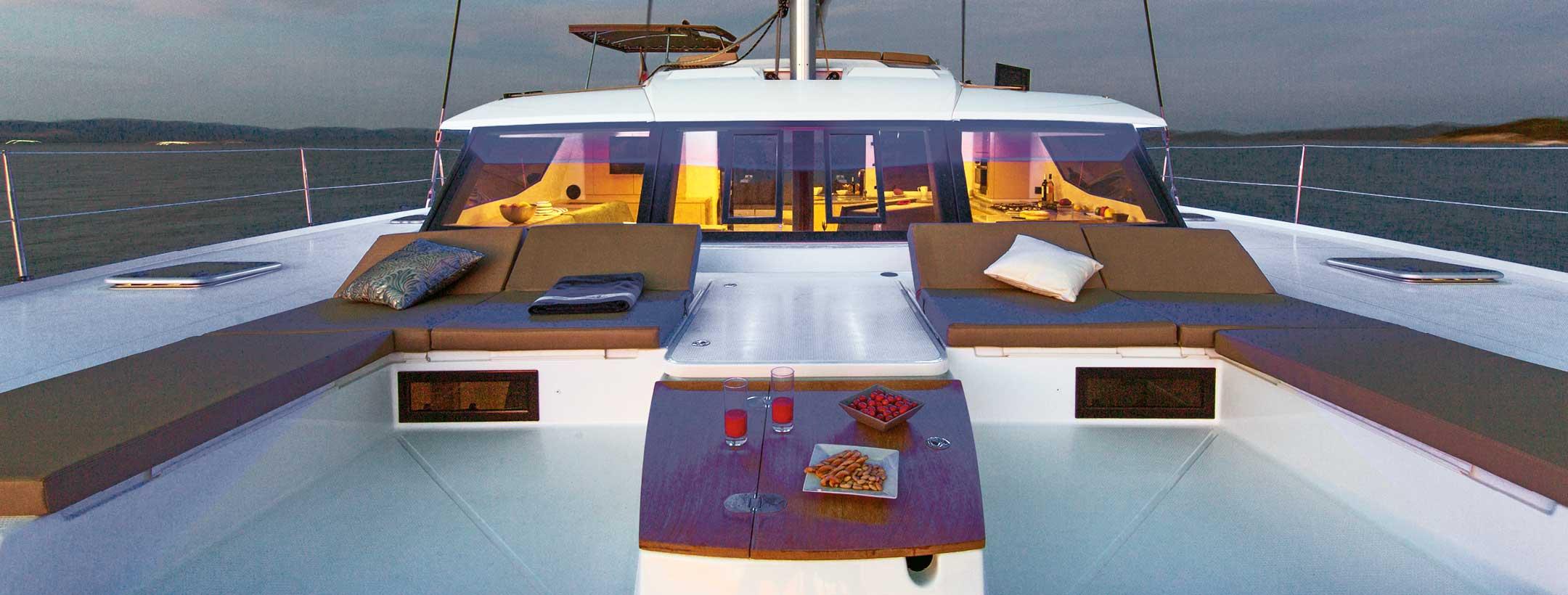 TradeWinds 52 Cruising Class Yacht top deck