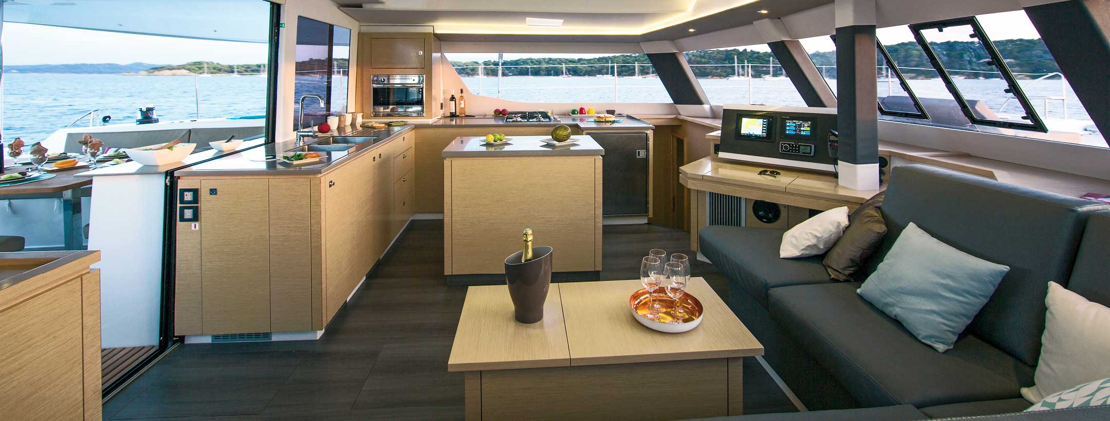 TradeWinds 52 Cruising Class Yacht kitchen