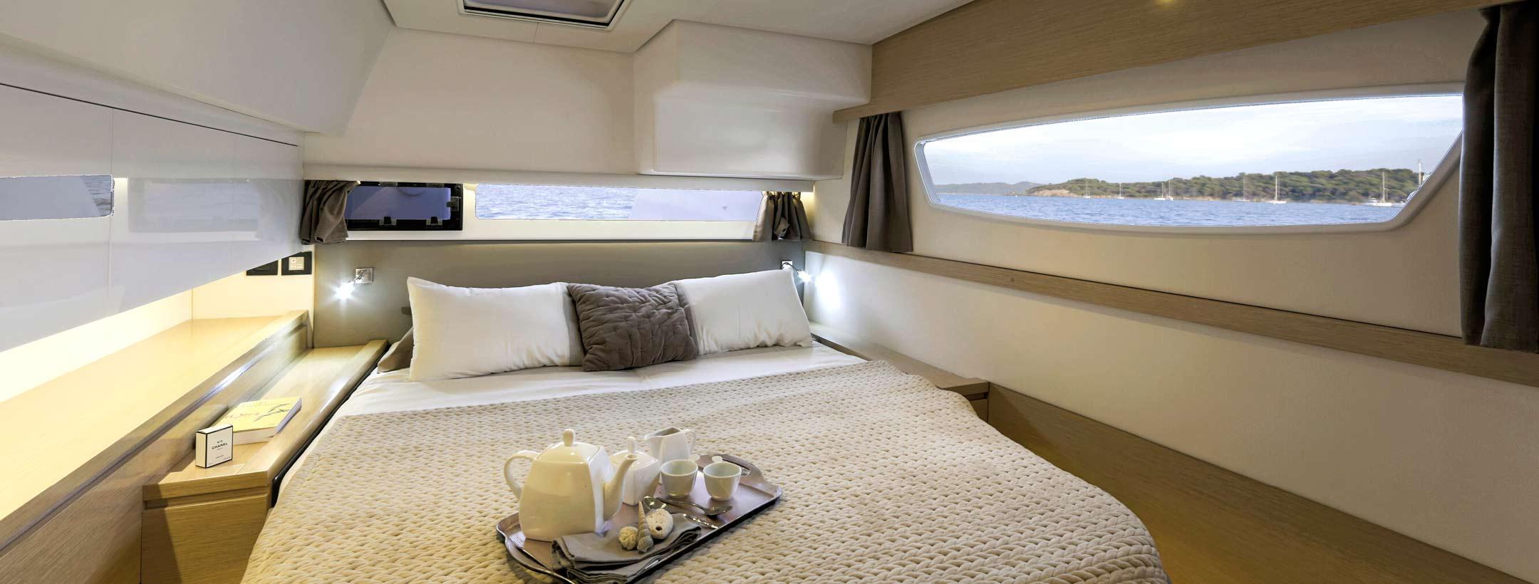 TradeWinds 52 Cruising Class Yacht cabin 1