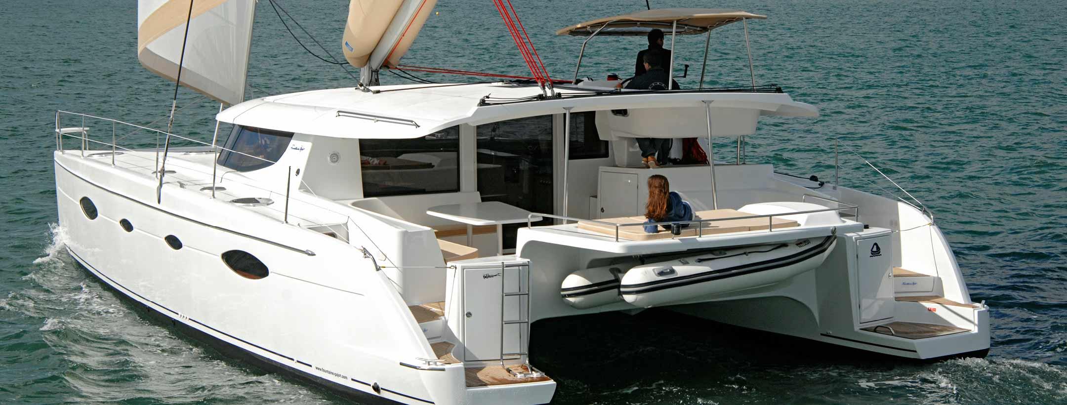 TradeWinds 50 Cruising Class Yacht stern view