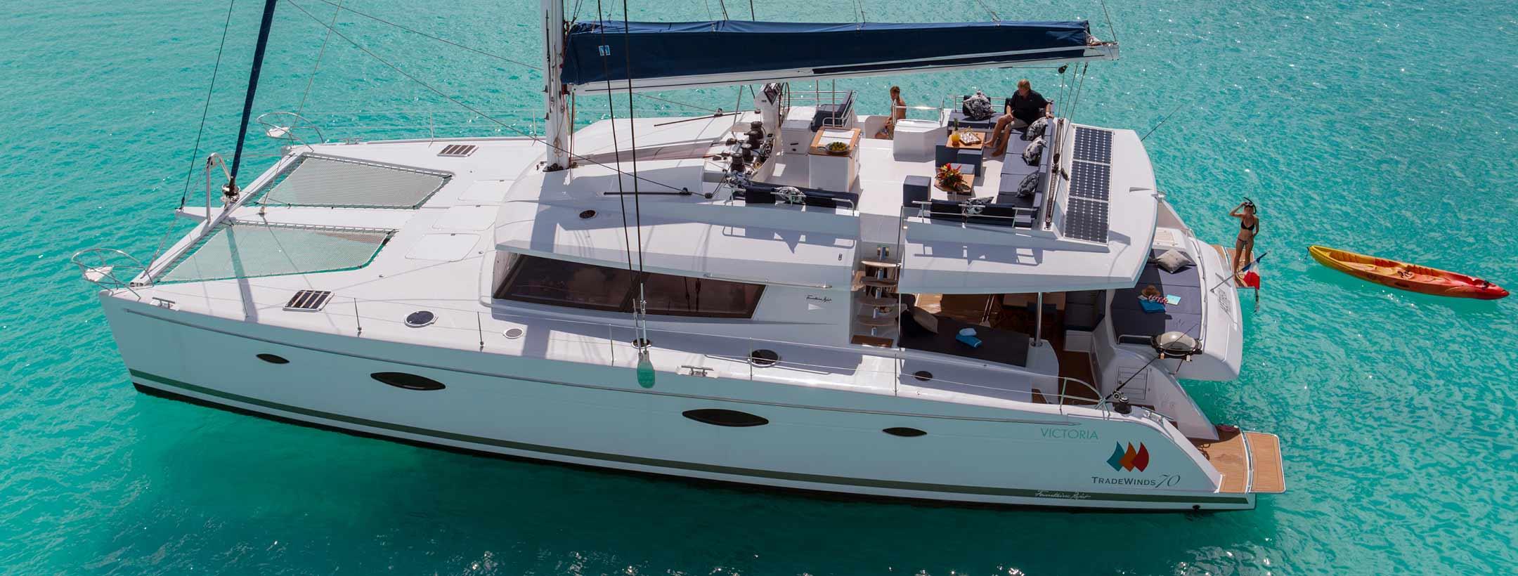 TradeWinds 70 ALETHEIA flagship class yacht
