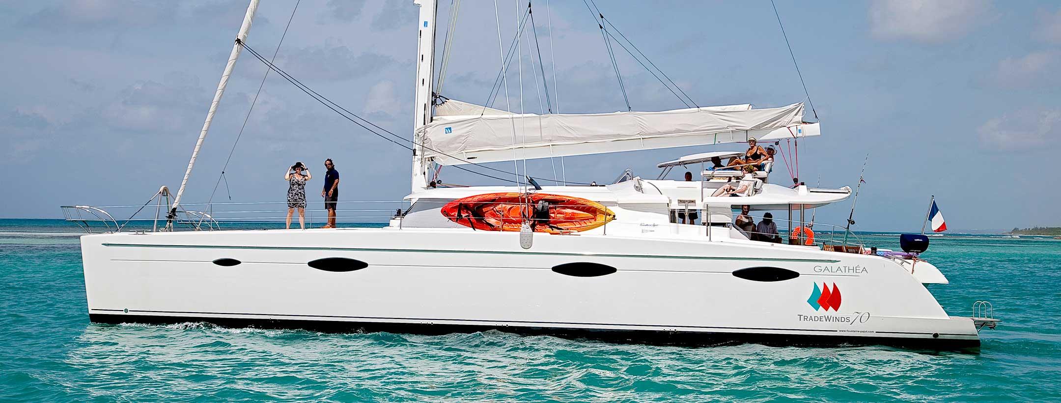 TradeWinds 70 NEW BEGINNINGS flagship class yacht